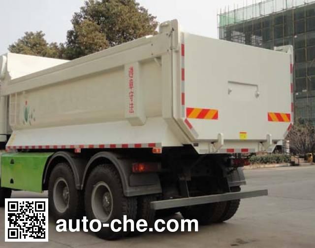 华威驰乐牌SGZ5250ZLJZZ5W38B自卸式垃圾车