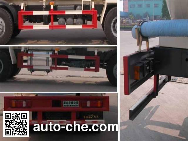 华威驰乐牌SGZ5310GFLCQ4低密度粉粒物料运输车