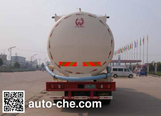 华威驰乐牌SGZ5311GFLZZ4G低密度粉粒物料运输车