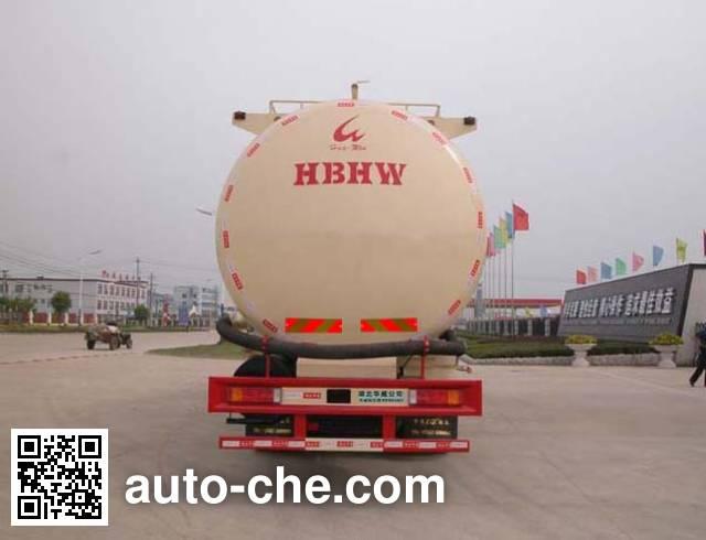 华威驰乐牌SGZ5310GFLD4A9低密度粉粒物料运输车