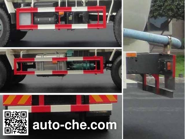华威驰乐牌SGZ5310GFLZZ4D7低密度粉粒物料运输车
