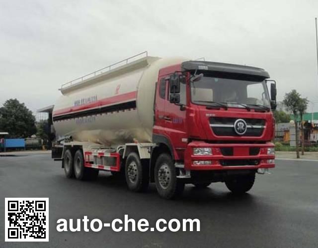 华威驰乐牌SGZ5310GFLZZ5D7低密度粉粒物料运输车