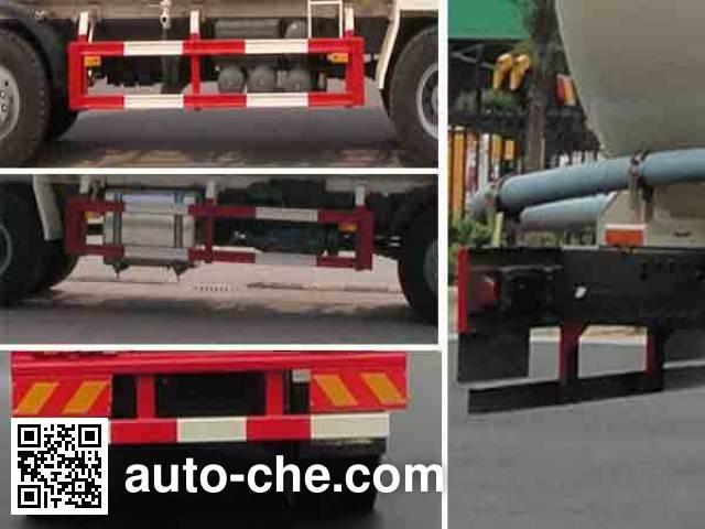 华威驰乐牌SGZ5310GFLZZ5T7低密度粉粒物料运输车