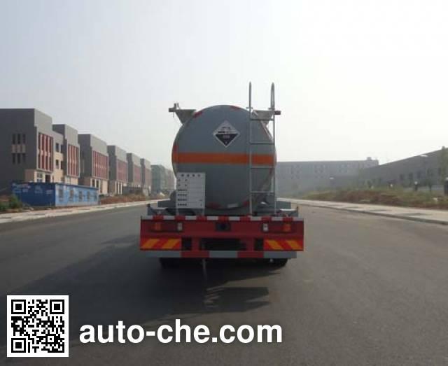 华威驰乐牌SGZ5310GFWZZ5T5腐蚀性物品罐式运输车