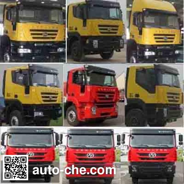 Sinotruk Huawin SGZ5310GXHCQ4 pneumatic discharging bulk cement truck