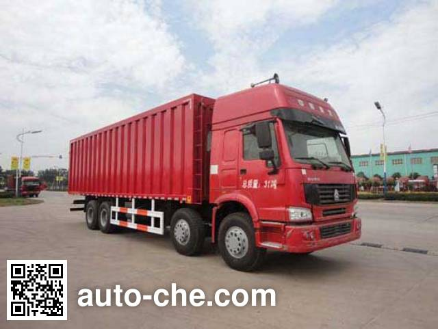 华威驰乐牌SGZ5310XXYZZ3W46厢式运输车