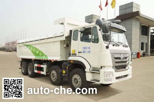 华威驰乐牌SGZ5311ZLJZZ5J7自卸式垃圾车