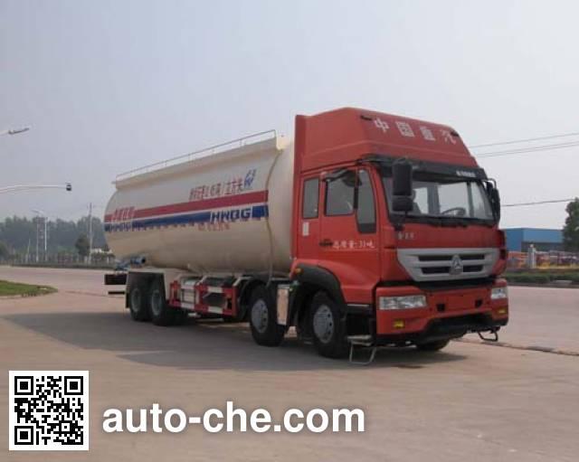 华威驰乐牌SGZ5311GFLZZ4J低密度粉粒物料运输车