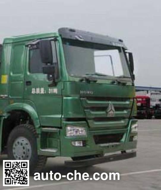 华威驰乐牌SGZ5311GFLZZ5WL低密度粉粒物料运输车