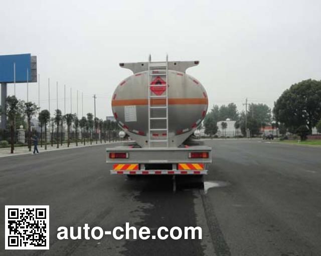 华威驰乐牌SGZ5321GYYZZ5J5铝合金运油车