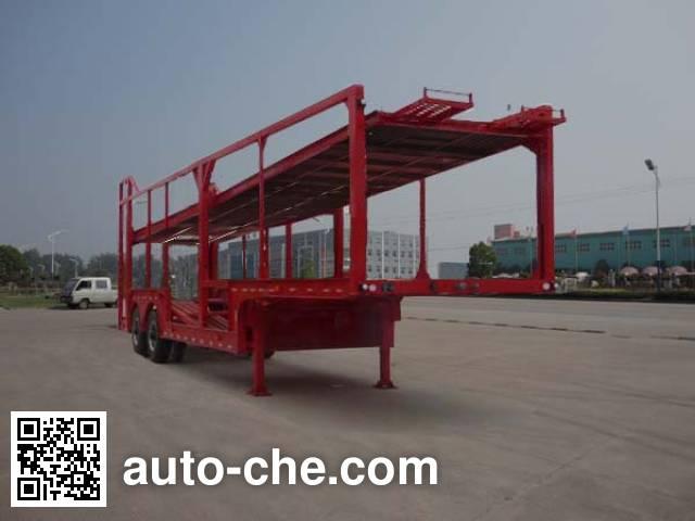 华威驰乐牌SGZ9200TCL车辆运输半挂车