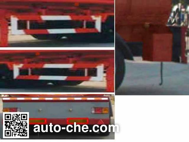 华威驰乐牌SGZ9250GYY-G运油半挂车