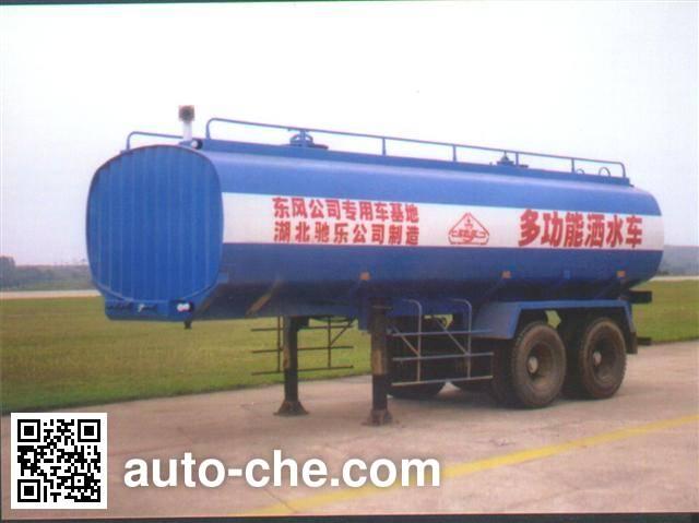 华威驰乐牌SGZ9270GSS-G洒水半挂车