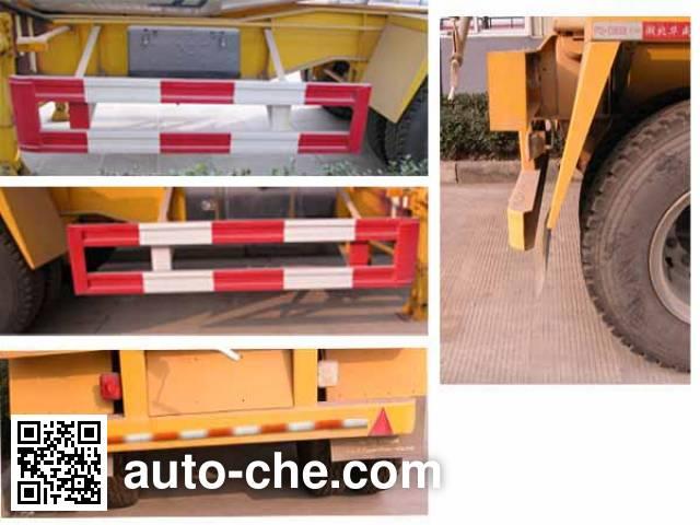 华威驰乐牌SGZ9340GJB混凝土搅拌运输半挂车