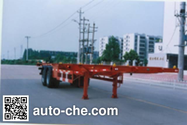 华威驰乐牌SGZ9350TJZ集装箱半挂牵引车