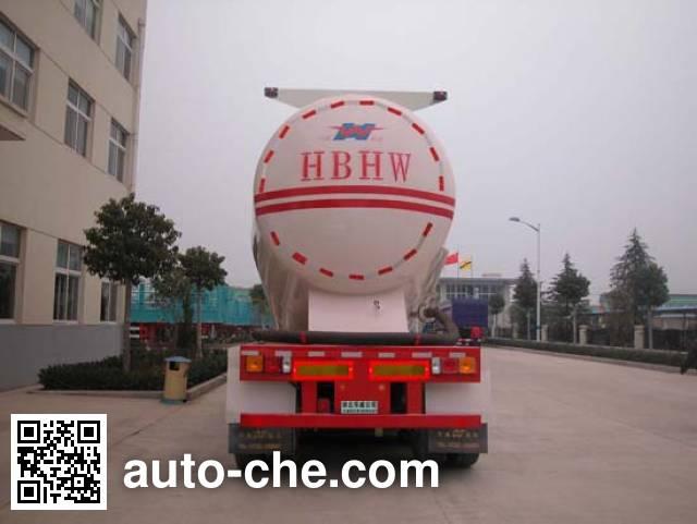 华威驰乐牌SGZ9401GFL粉粒物料运输半挂车
