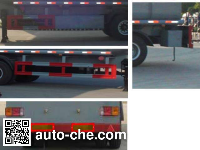 华威驰乐牌SGZ9400GWS污水运输半挂车