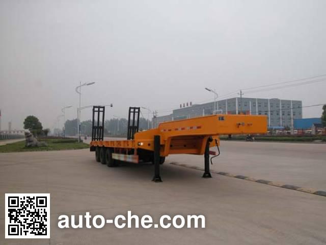 华威驰乐牌SGZ9400TDP低平板半挂车