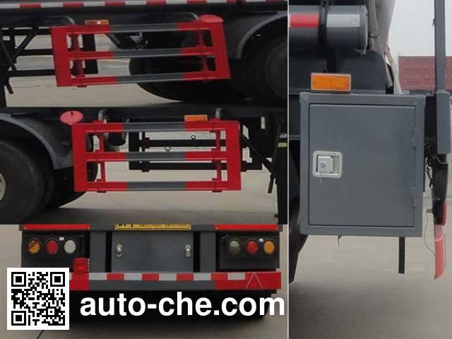 华威驰乐牌SGZ9401GFW腐蚀性物品罐式运输半挂车