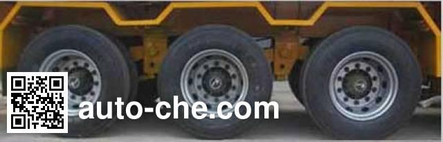 华威驰乐牌SGZ9401TWY危险品罐箱骨架运输半挂车