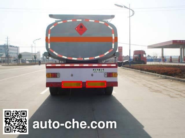 华威驰乐牌SGZ9400GHY化工液体运输半挂车