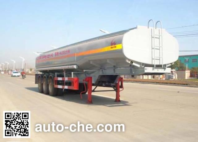 华威驰乐牌SGZ9402GHY化工液体运输半挂车