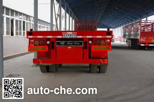 华威驰乐牌SGZ9402TJZ集装箱运输半挂车