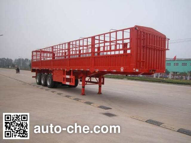 华威驰乐牌SGZ9404CXY仓栅式运输半挂车