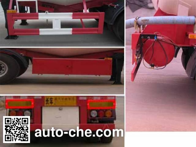 华威驰乐牌SGZ9405GFL低密度粉粒物料运输半挂车