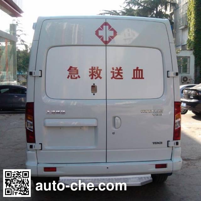 SAIC Datong Maxus SH5030XXJA1D4 blood plasma transport medical car