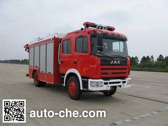 Jieda Fire Protection SJD5120TXFJY100H пожарный аварийно-спасательный автомобиль