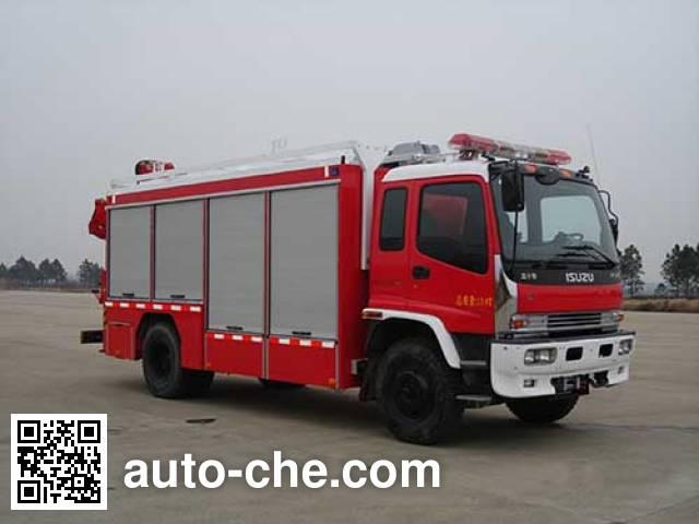 Jieda Fire Protection SJD5140TXFJY75W пожарный аварийно-спасательный автомобиль