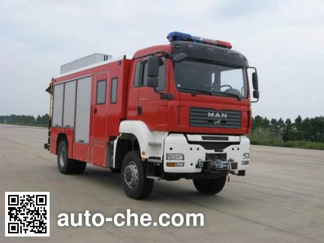 Jieda Fire Protection SJD5160TXFJY100M пожарный аварийно-спасательный автомобиль