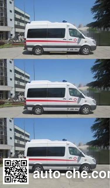 航天牌SJH5041XJH救护车