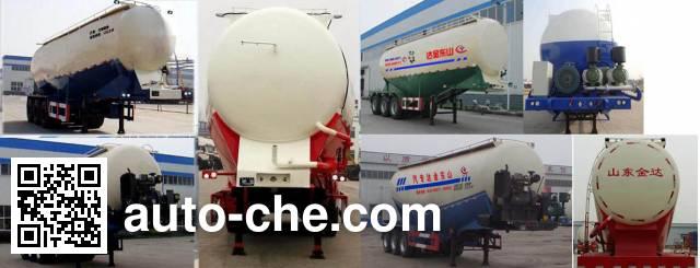 Liangyun SLY9380GFL medium density bulk powder transport trailer
