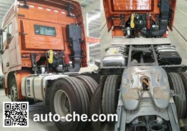集瑞联合牌SQR4251D6ZT2-1集装箱半挂牵引车