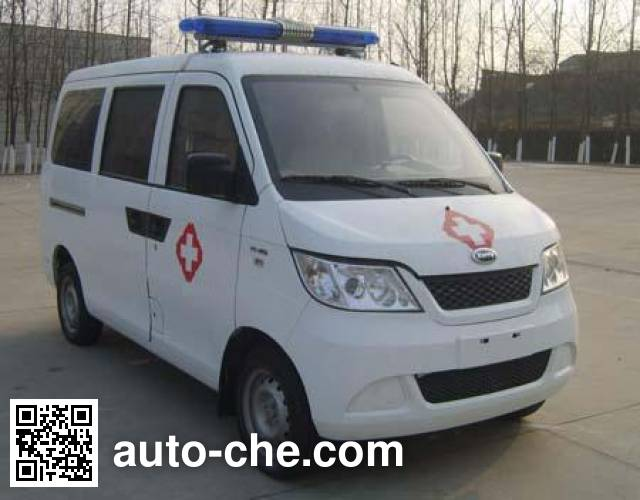 开瑞牌SQR5020XJH救护车