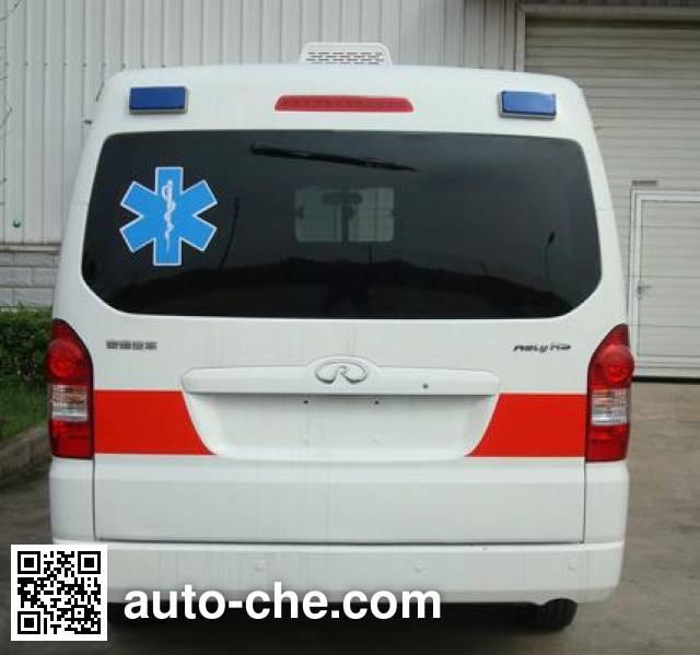 威麟牌SQR5031XJH救护车