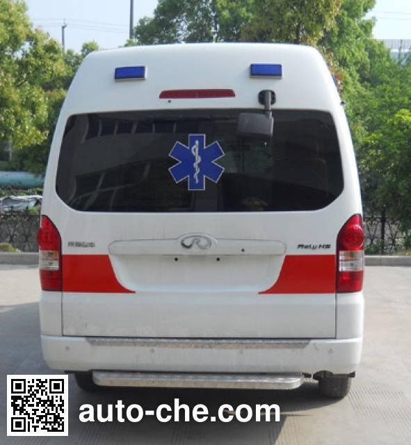 威麟牌SQR5040XJHH13救护车