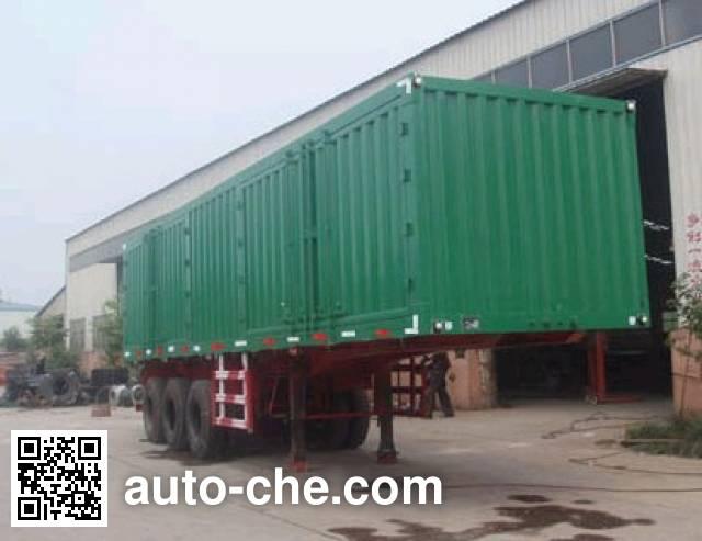 Kaishicheng SSX9331XXY box body van trailer