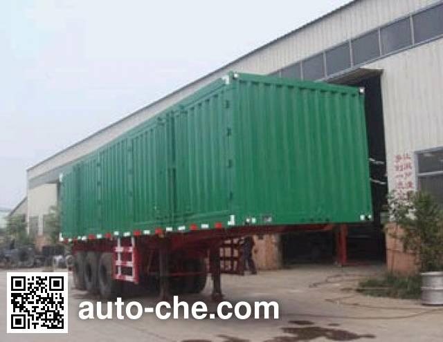 Kaishicheng SSX9403XXY box body van trailer