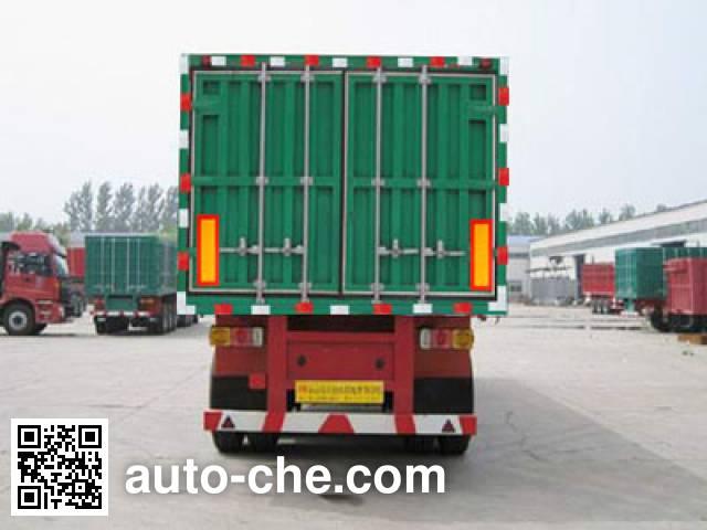 Kaishicheng SSX9404XXY box body van trailer