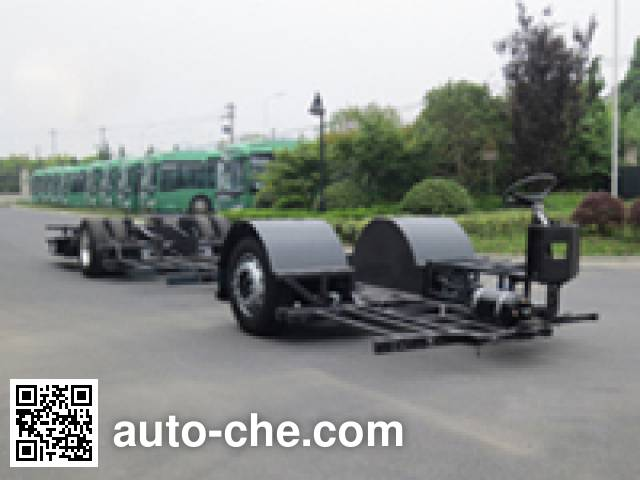 Sunwin SWB6121EV60 electric bus chassis