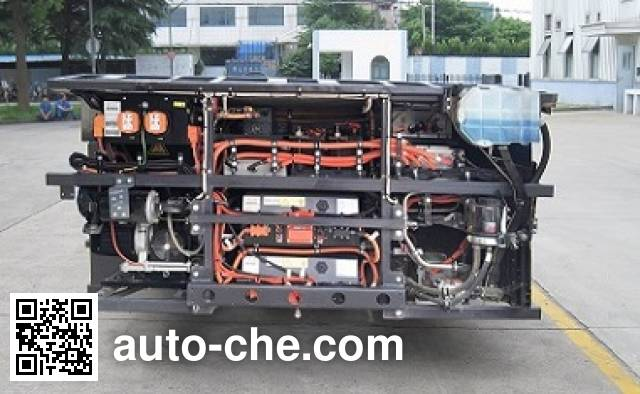 Sunwin SWB6128EV95 Electric bus chassis (Batch #289) Made ...