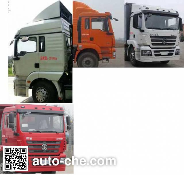 Shacman SX5200XXYMP5 box van truck