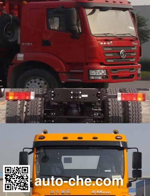 Shacman SX5310GJBMB6 concrete mixer truck chassis