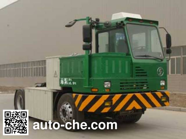 Shacman SX4186ZG331N electric industrial/container tractor