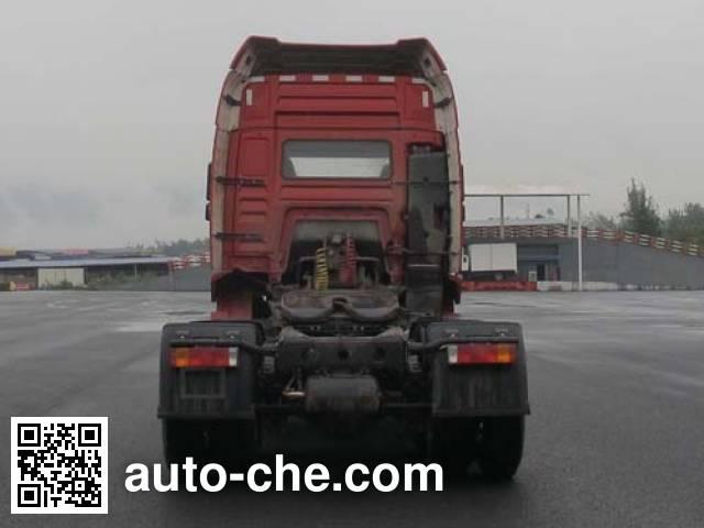 陕汽牌SX4250MB4Z集装箱半挂牵引车