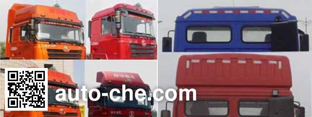 Shacman SX4258NV384TLW dangerous goods transport tractor unit
