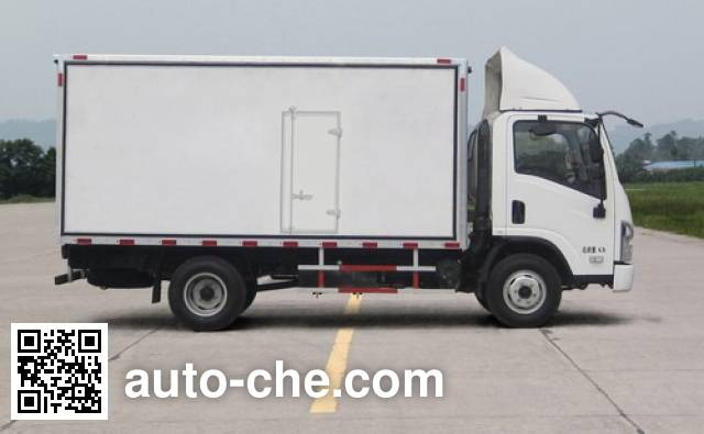 Shacman SX5040XBWGP4 insulated box van truck
